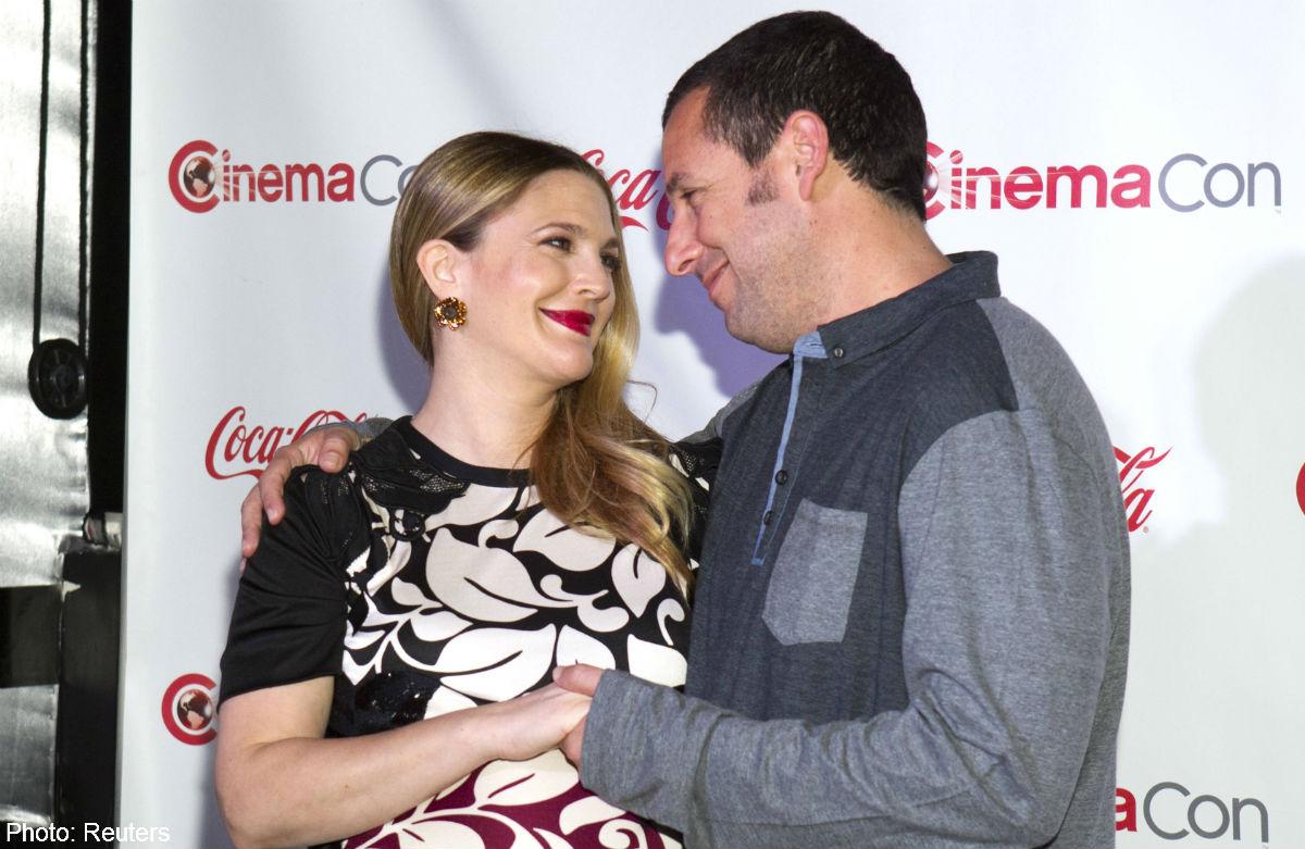 Adam Sandler and Drew Barrymore: Goofs eternal