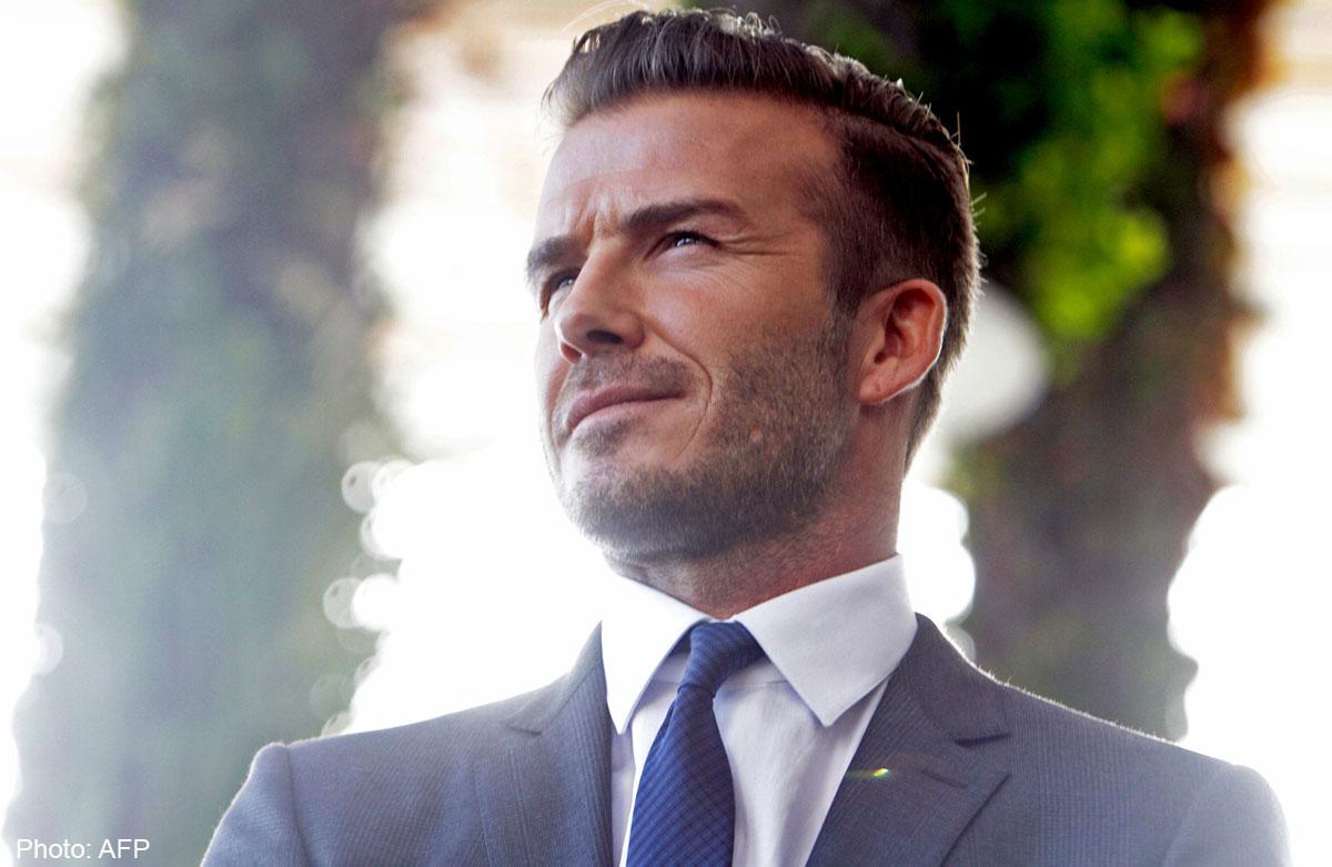 David Beckham To Meet Fans At Mbs Next Month Singapore News Asiaone