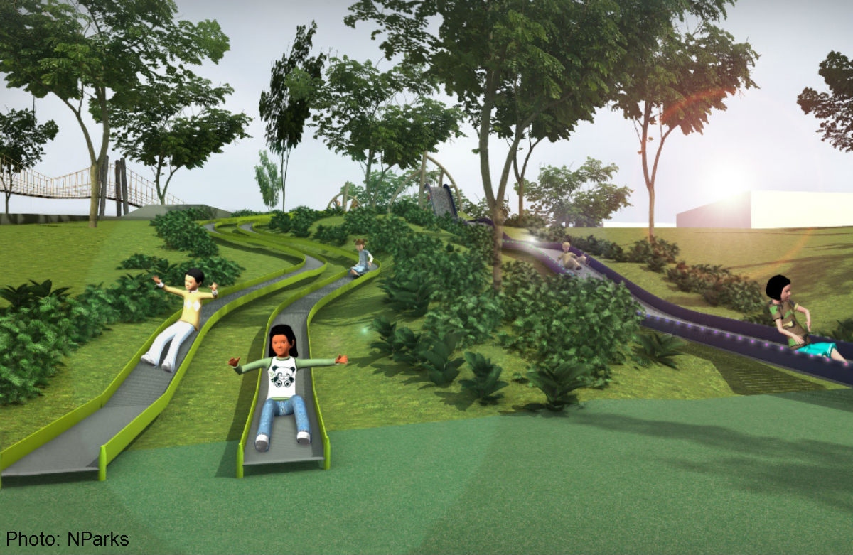 Admiralty Park To Get New Play Areas By End