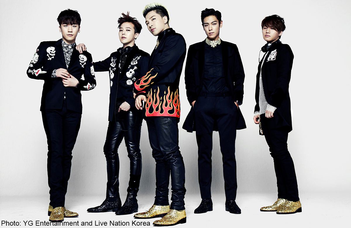 Korean pop band Bigbang back with new single after 3 years ...