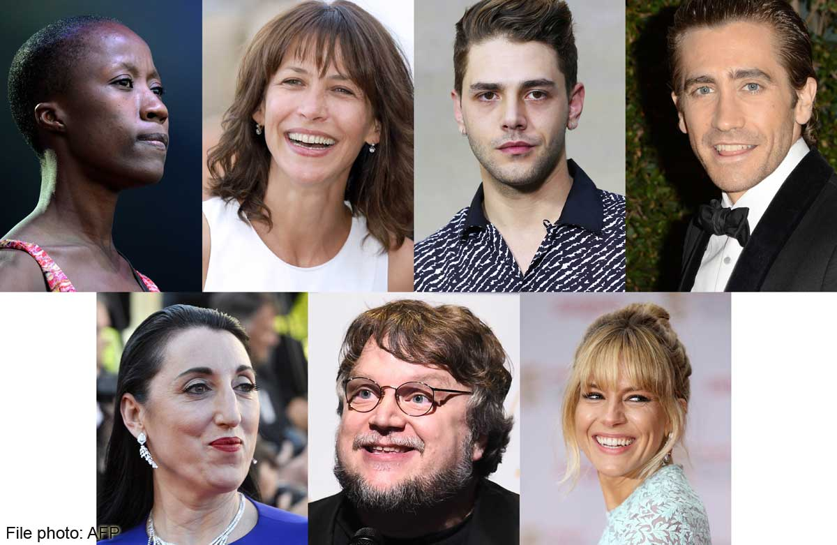 Cannes's jury of stars to decide the Palme d'Or