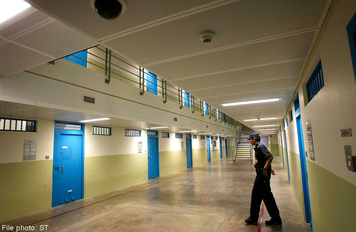 Prison cells for elderly inmates, Singapore News - AsiaOne