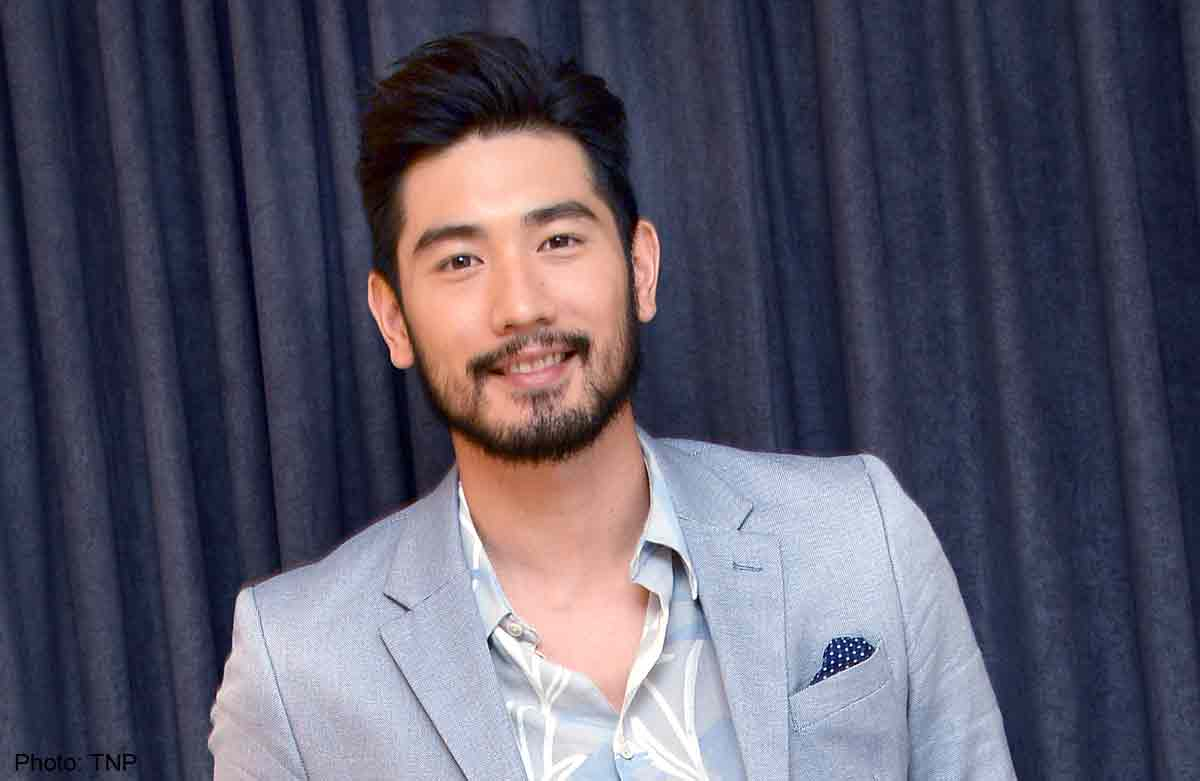 'Male god' Godfrey Gao reveals little-known skill at ...