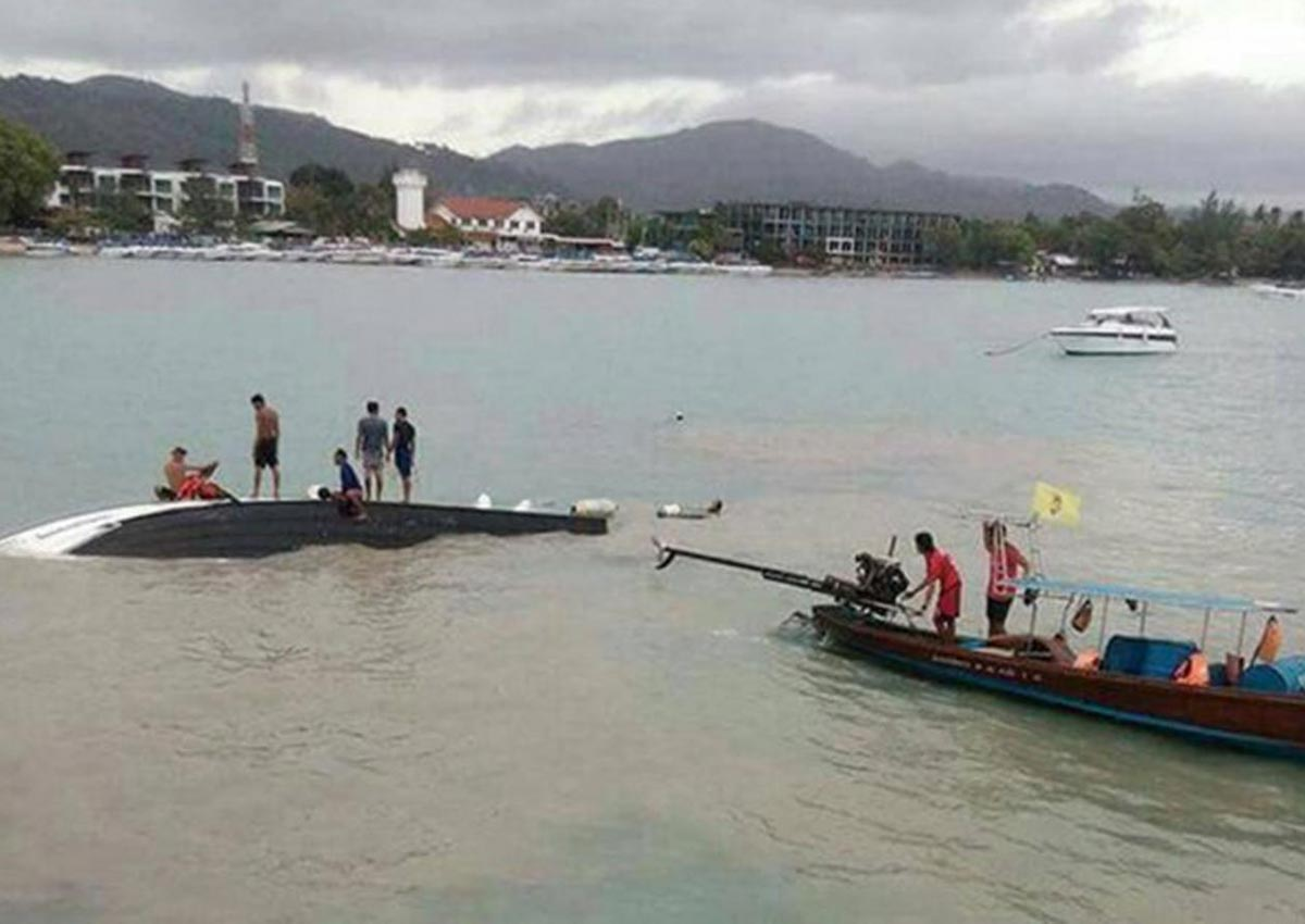 2 tourists killed, 2 missing in speed boat accident at Koh