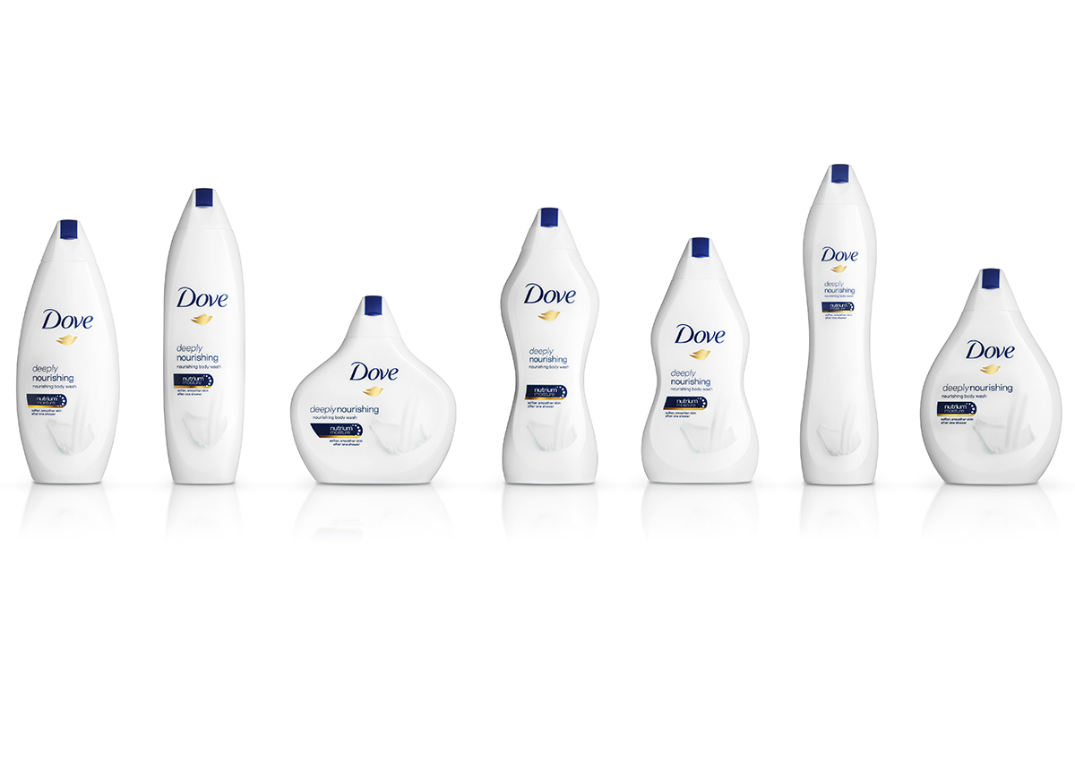5 hilarious reactions the Internet had to Dove's shapely body wash bottles