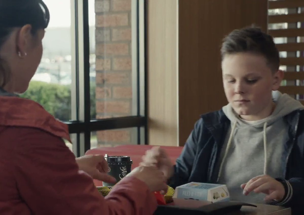 Mcdonald 39 s uk ad about a boy his dead father and filet o for Filet o fish friday 2017