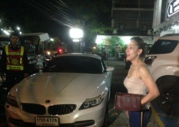 Thai British Model Actress Charged With Drink Driving Hit
