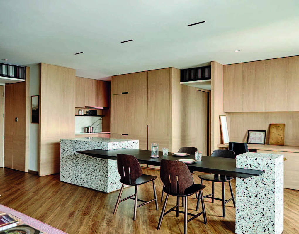 Interior Designers 4 Room Hdb Flat Boasts Interesting Textural Finishes Business News Asiaone