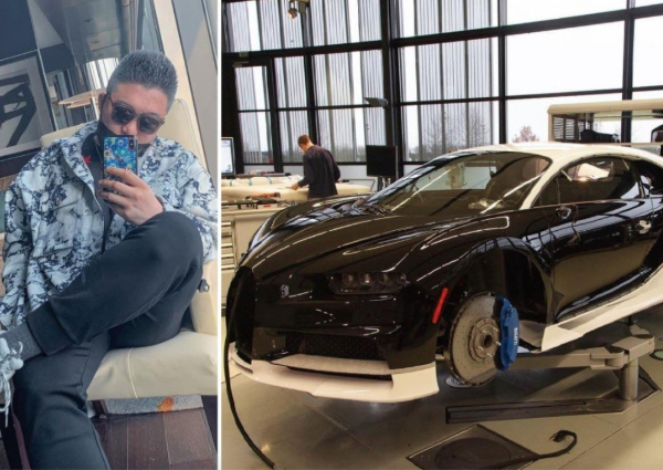 China tycoon's son buys $5m Bugatti with dad's credit card