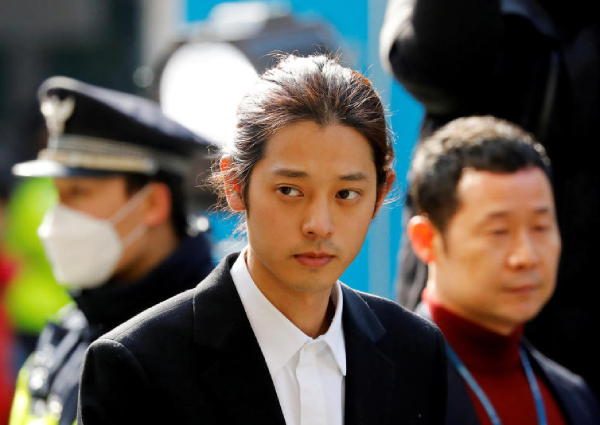 meilleur site web 3b6b0 a1a9b Jung Joon-young indicted on spycam charge, Asia News - AsiaOne