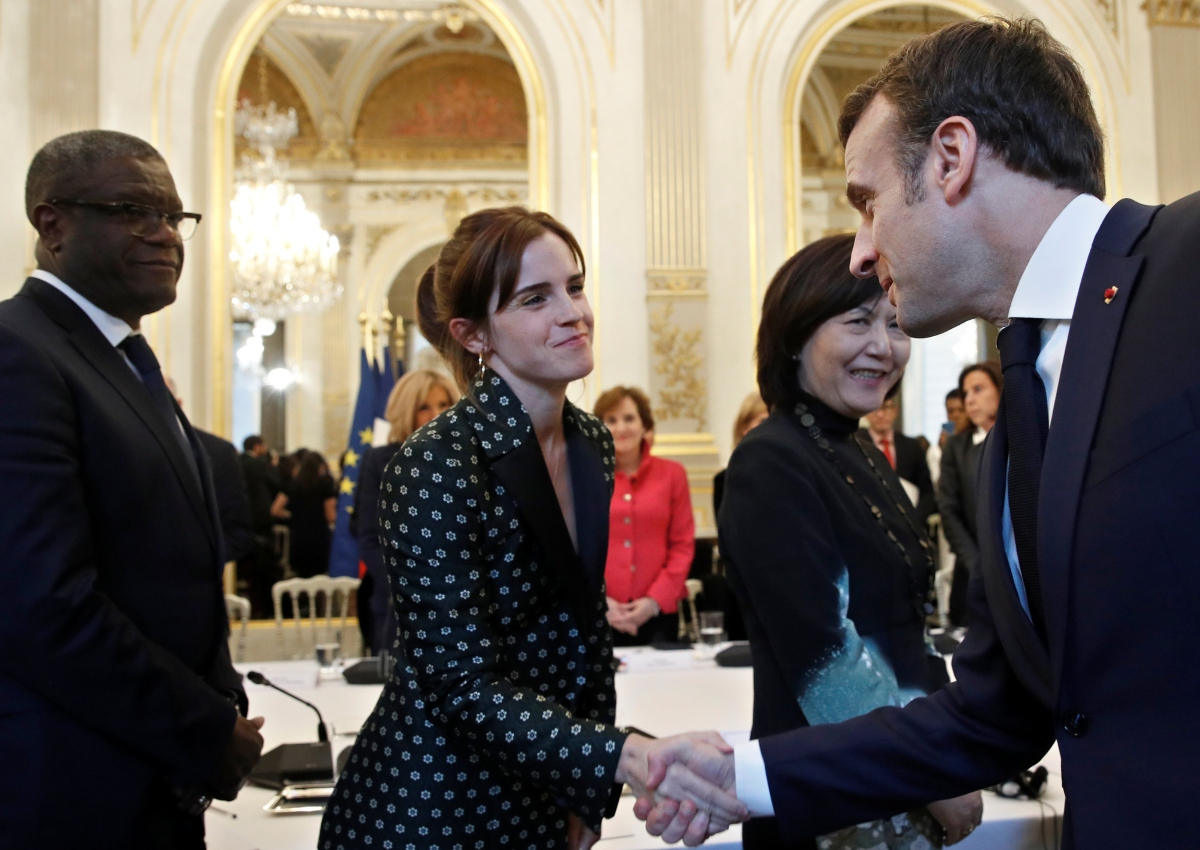 Emma Watson Attends First G7 Meeting Alongside French President Entertainment News Asiaone