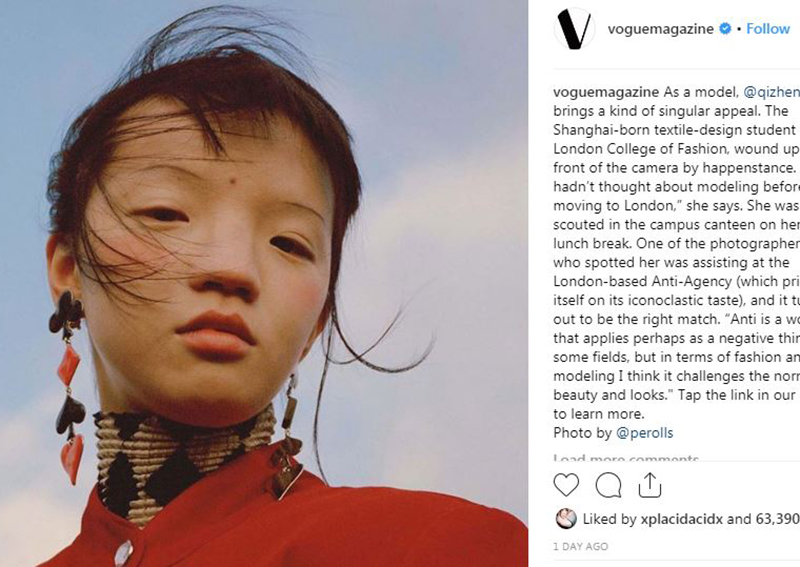 Vogue magazine accused of racism, 'uglifying' Chinese people ...