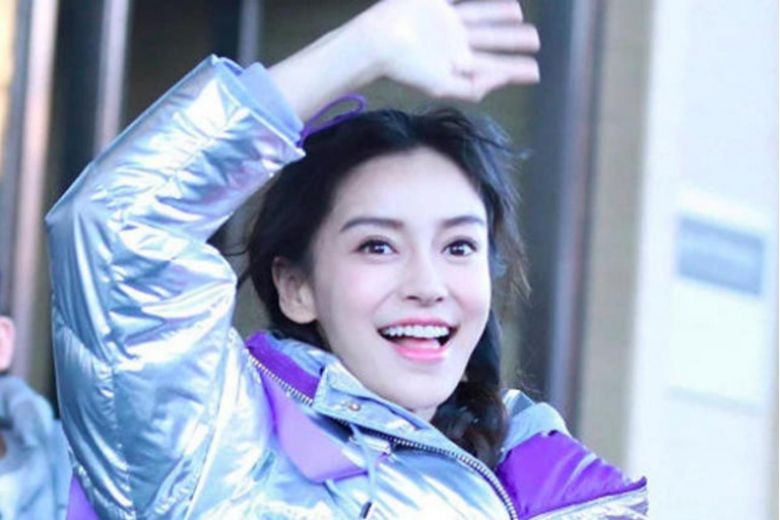 Chinese actress Angelababy injures finger while filming variety show