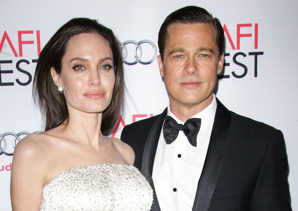 Brad Pitt and Angelina Jolie working on a divorce deal