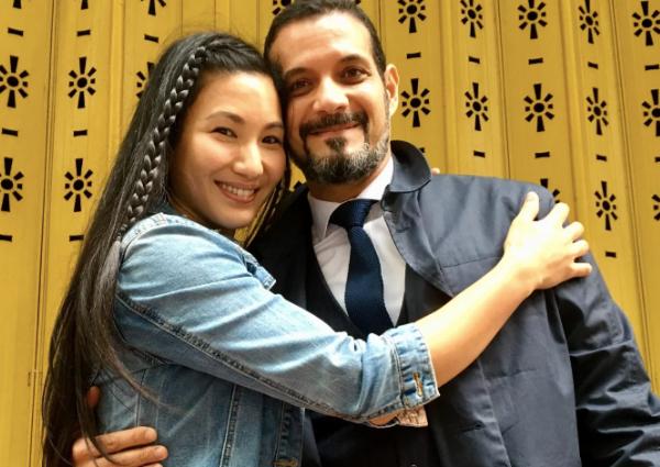HK actress Marsha Yuan weds Moroccan boyfriend she met on