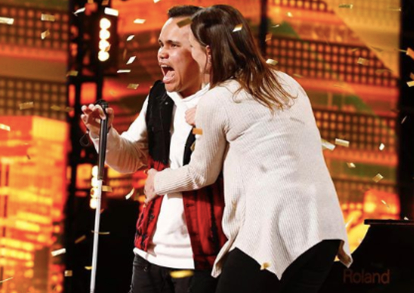 Blind and autistic singer gets Golden Buzzer in 'America's Got