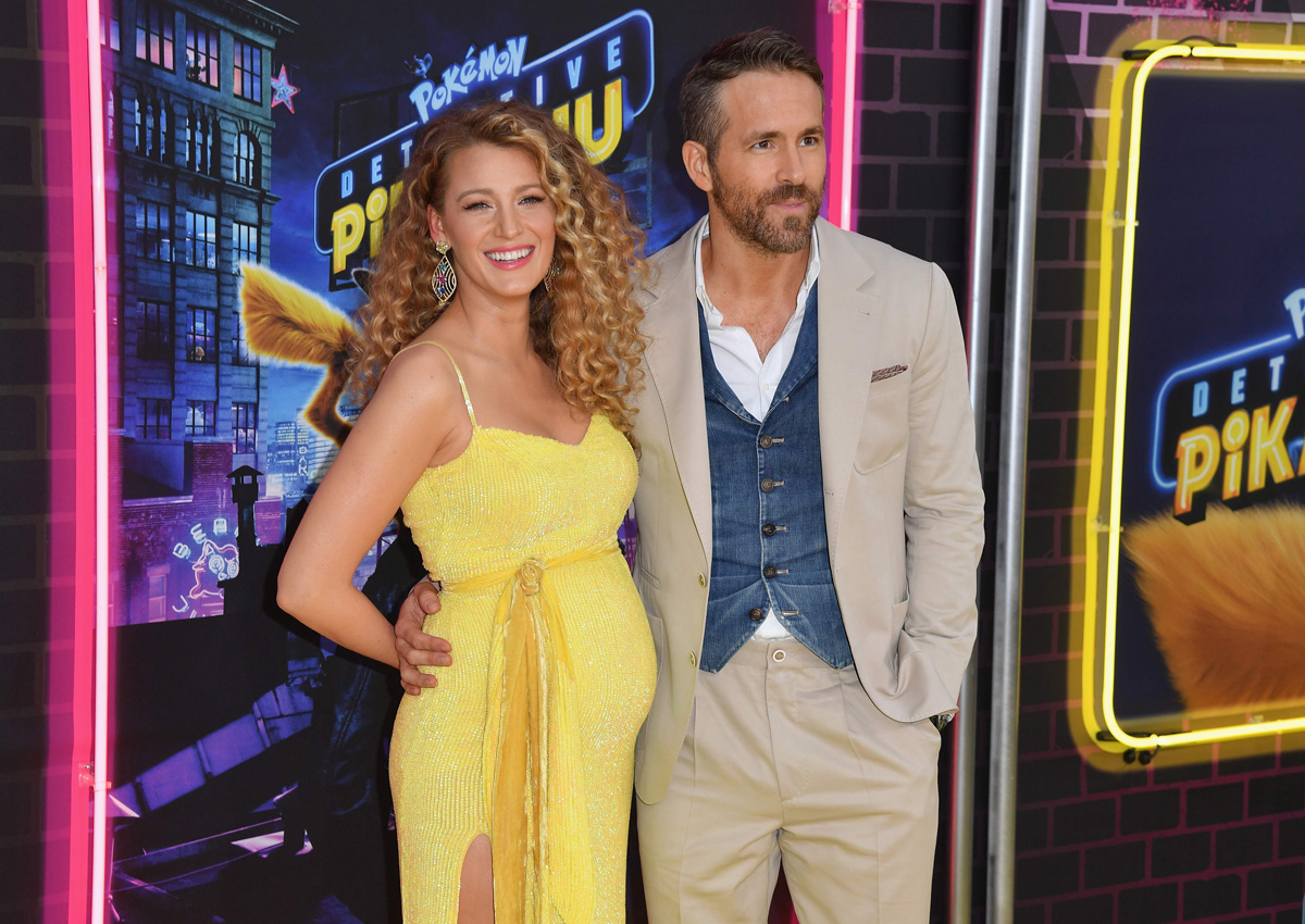 Are Blake Lively and Ryan Reynolds expecting baby no  3