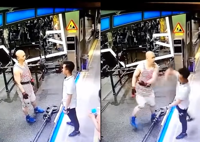 Size doesn't matter as 'little guy' KOs big gym bully in China viral