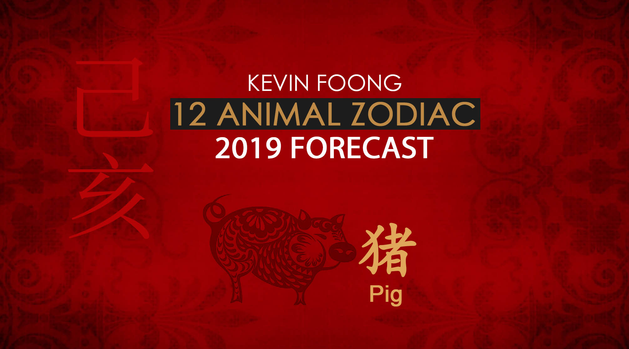 Here's your Chinese zodiac forecast for 2019 Year of the Pig