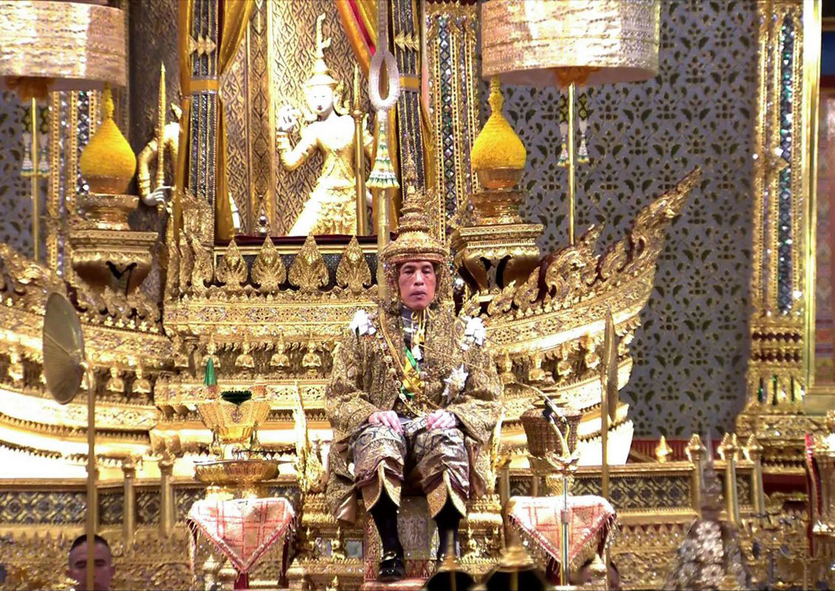 King Maha Vajiralongkorn crowned Rama X of Thailand, Asia