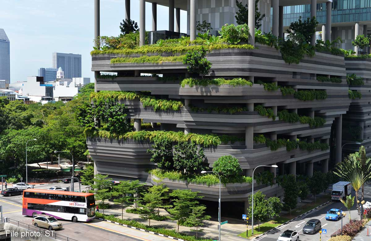 Culture of high rise gardens takes root singapore news asiaone - Elevate the sustainable house ...