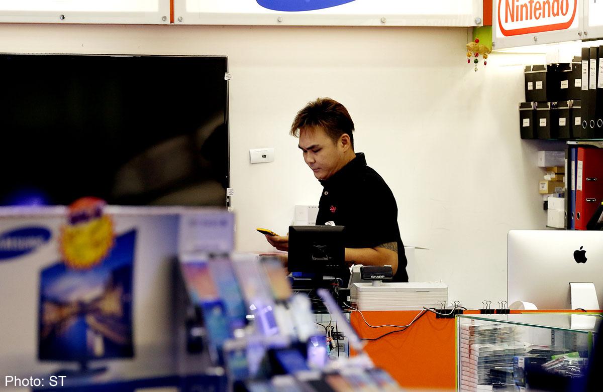 Blacklisted Sim Lim Square mobile phone shop reopens