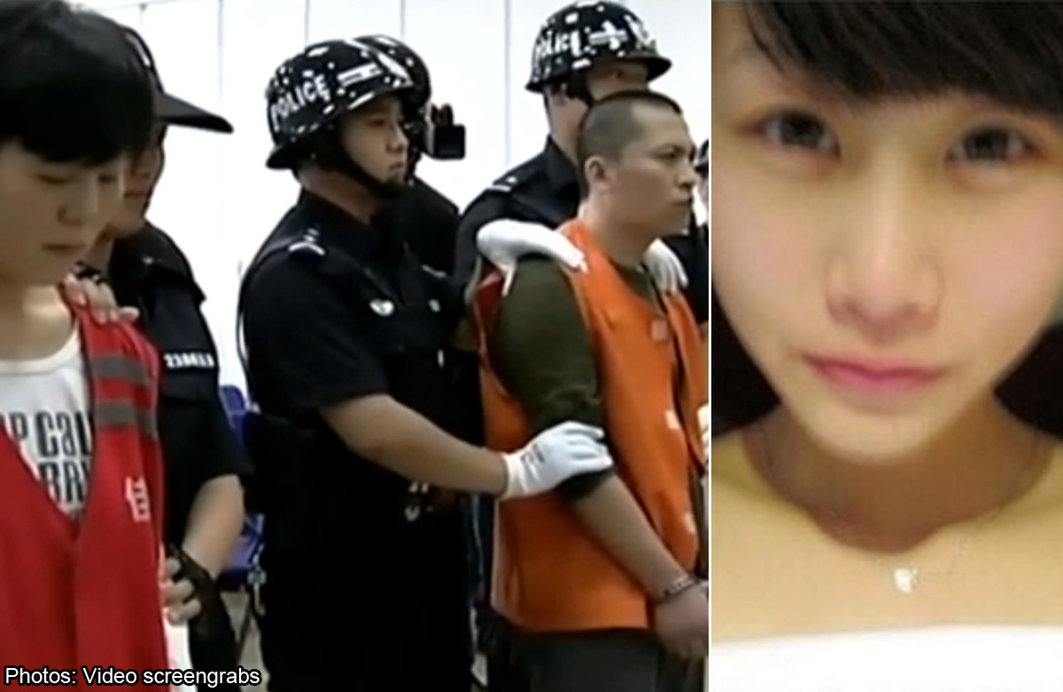 Death sentence upheld for Chinese couple who raped and