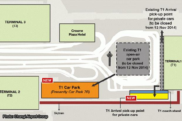 Plaza  Changi Business Park Car Park