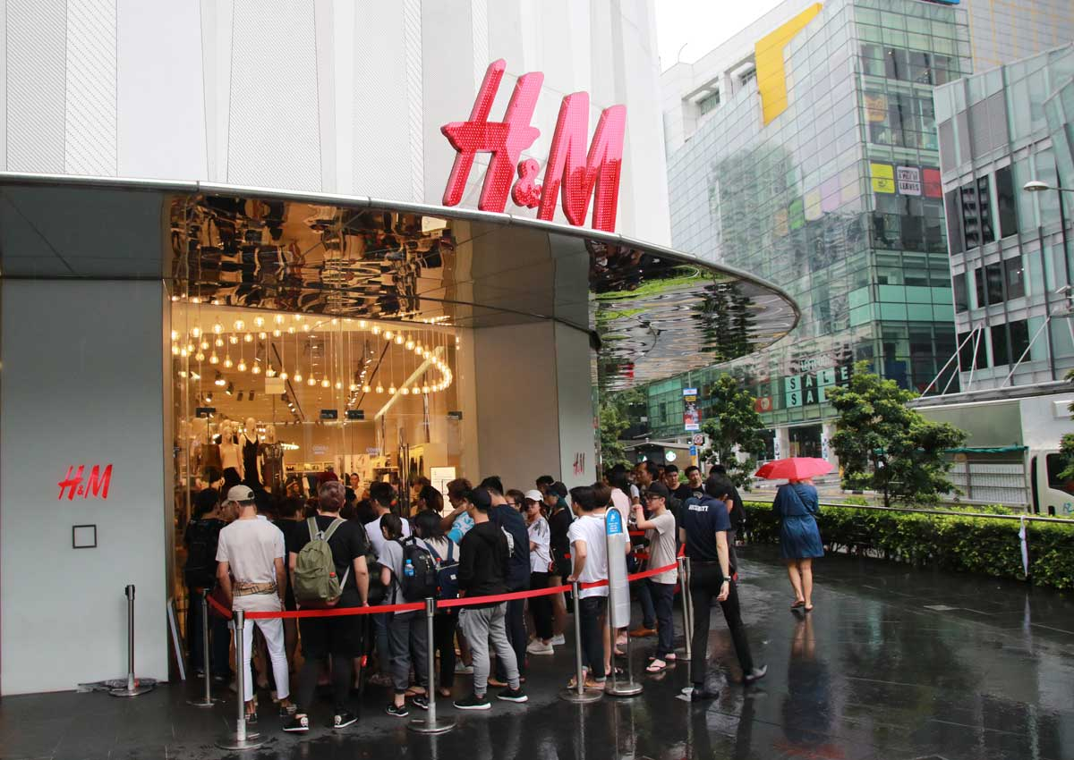 05550e0799d H M s collaboration with Kenzo draws long queues at Orchard Building and Ion  Orchard