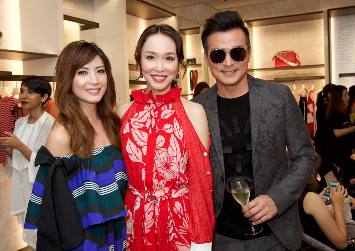 c415b714ffa4 Local celebrities flock to Fendi boutique reopening at MBS