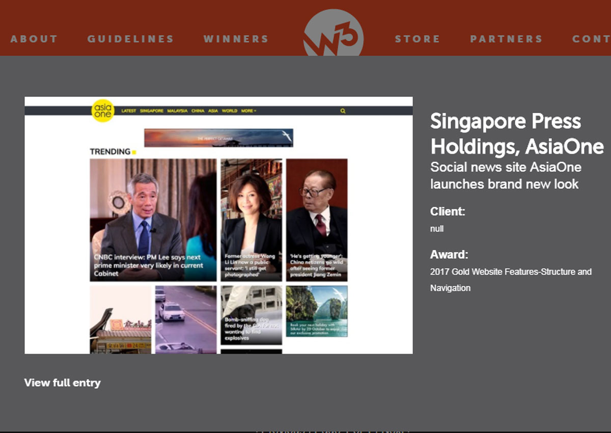 Remarkable Asiaone Wins 6 Awards At 2017 W3 Awards For Website Design Download Free Architecture Designs Lectubocepmadebymaigaardcom