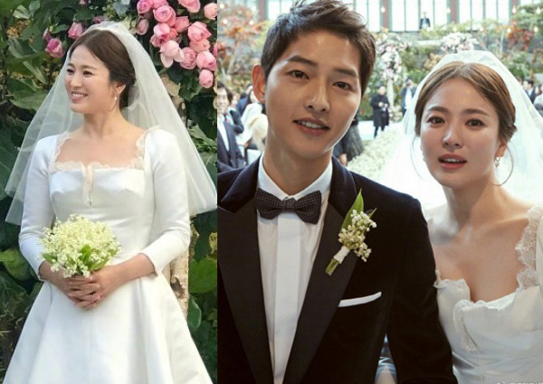 Song Hye Kyo S 12 200 Wedding Bouquet Said To Cost More Than Her