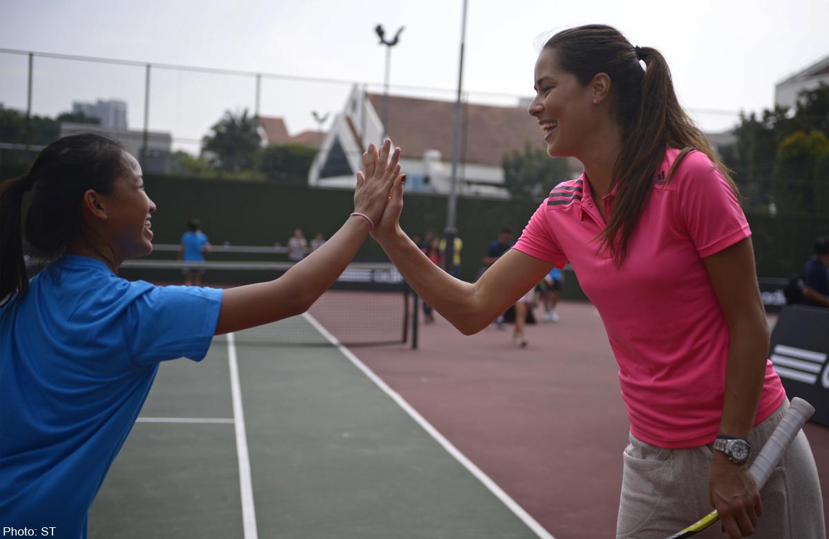 Ana Ivanovic Feet tennis: ivanovic back in the swing of things, news - asiaone
