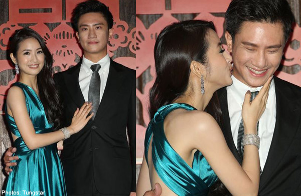 ariel lin and joe cheng married in real life