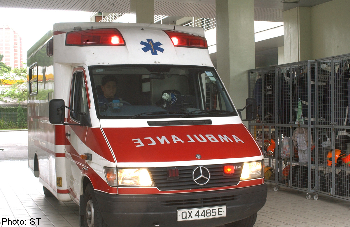 Rise In 995 Calls To Scdf For Ambulance Service