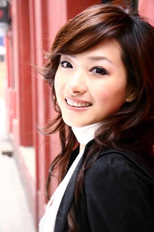 Hong Kong actress Maggie Siu poses during a press
