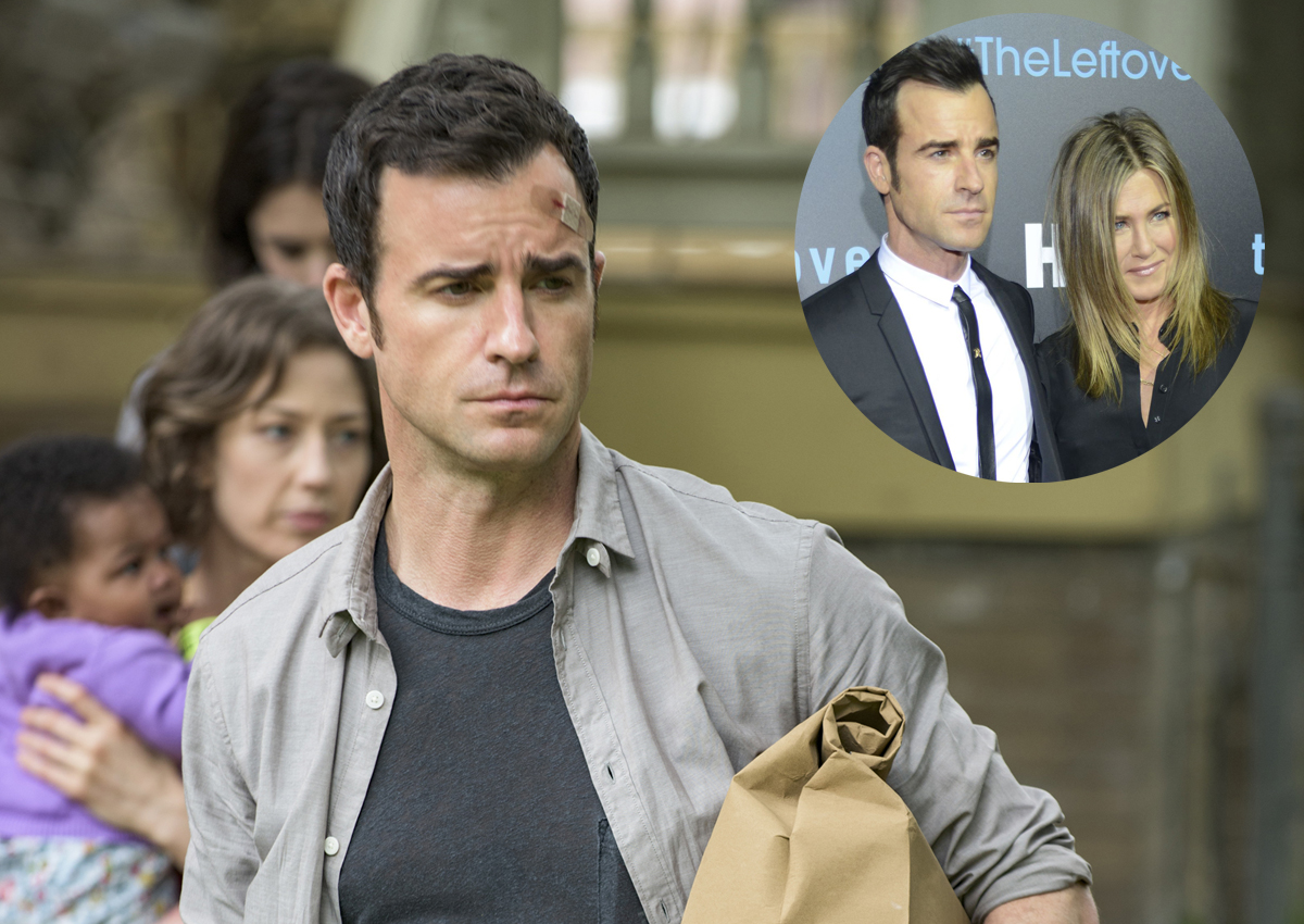 Actor Justin Theroux's favourite role is being husband to