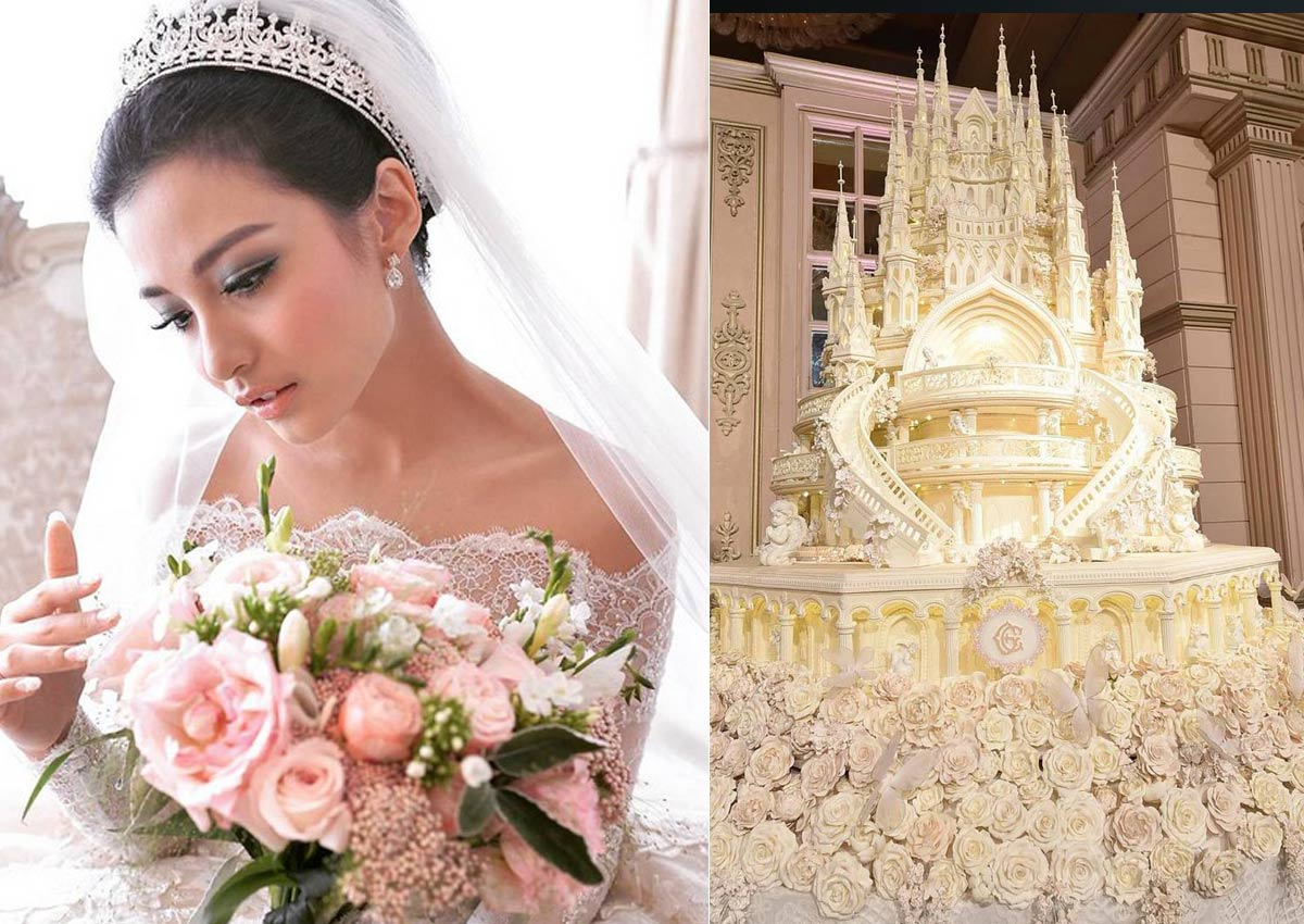 Indonesian Celebs Fairy Tale Wedding Stuns With 4 5m