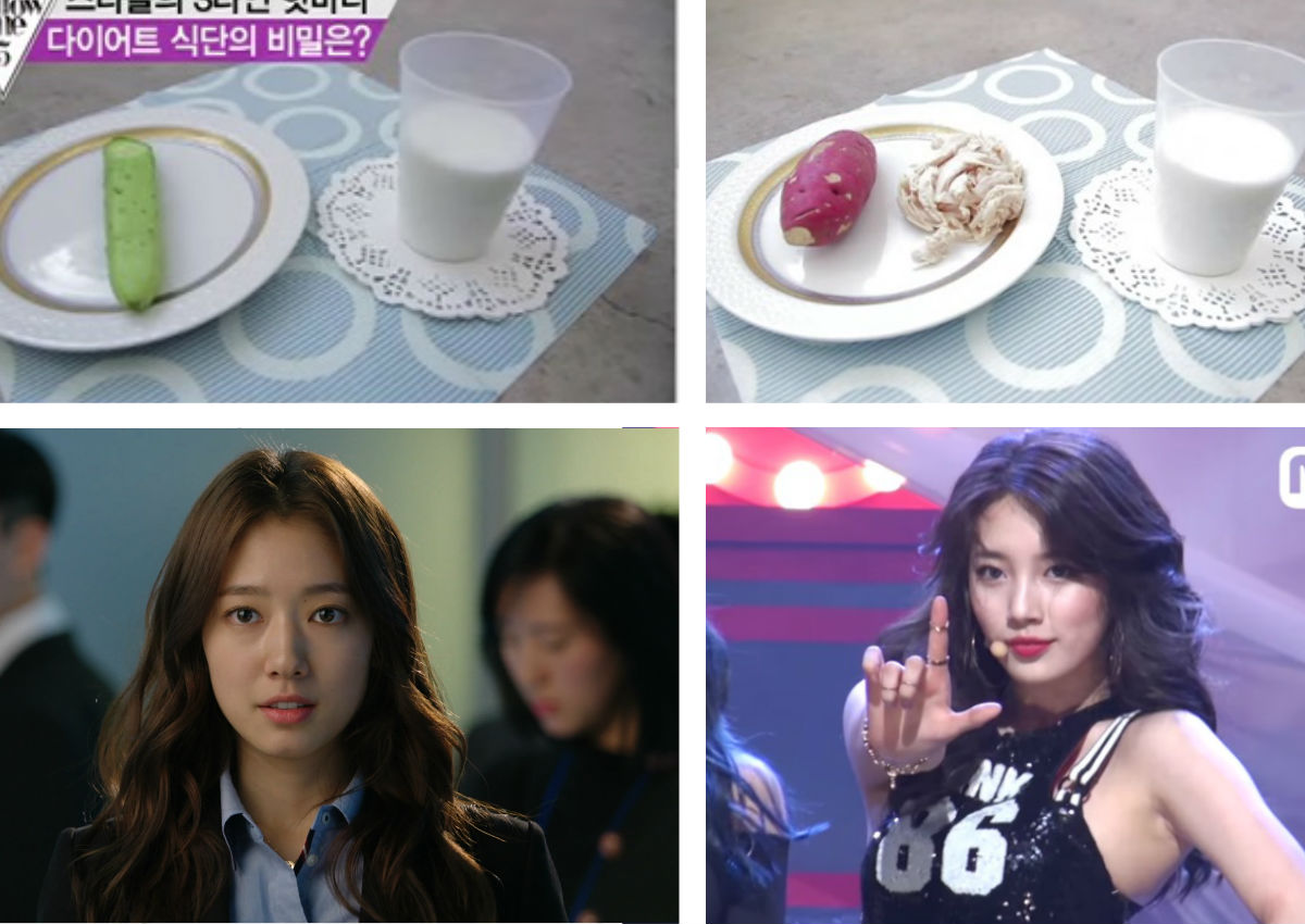 Extreme diets of Korean stars Park Shin-hye, Suzy and IU ...