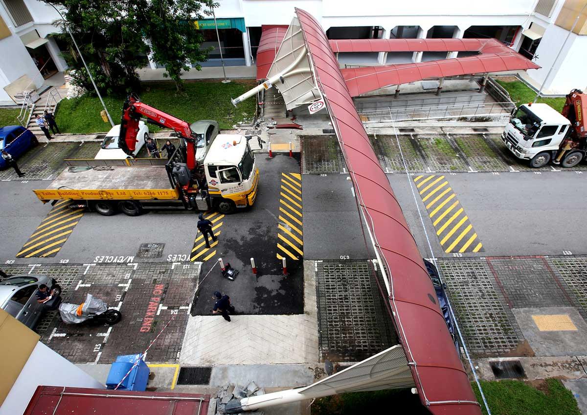 Lorry crane safety needs a lift, Singapore News - AsiaOne