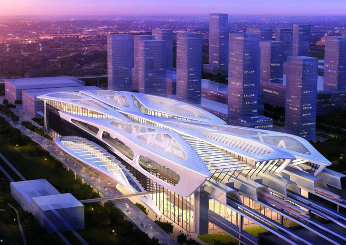 Concept designs for KL-Singapore High-Speed Rail stations ...