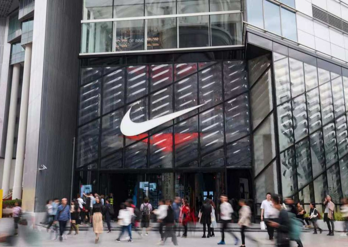competitive price new images of uk cheap sale Nike opens first global flagship store in Shanghai, targets ...