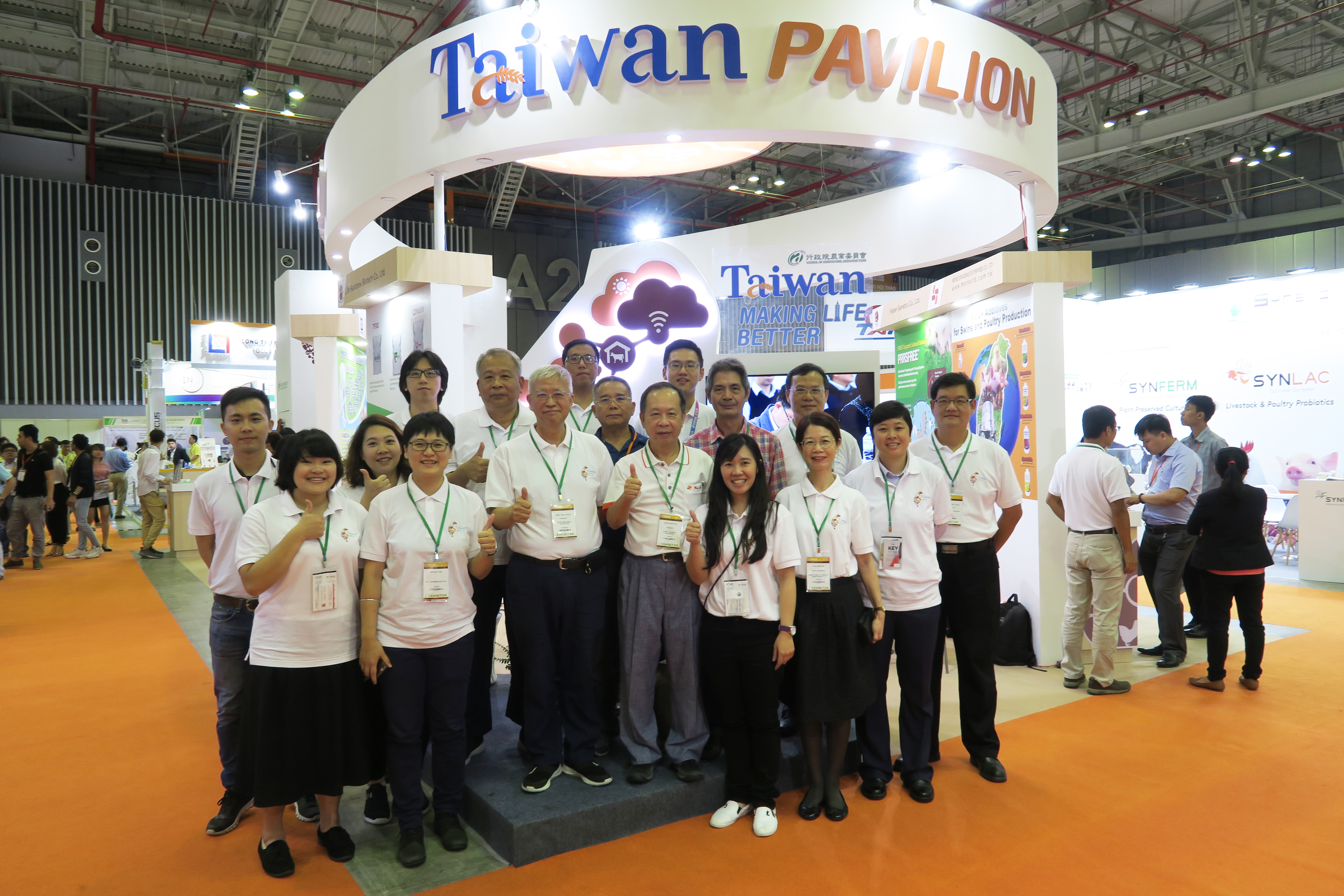 Taiwan companies promote biotech products at Vietstock 2018 exhibit