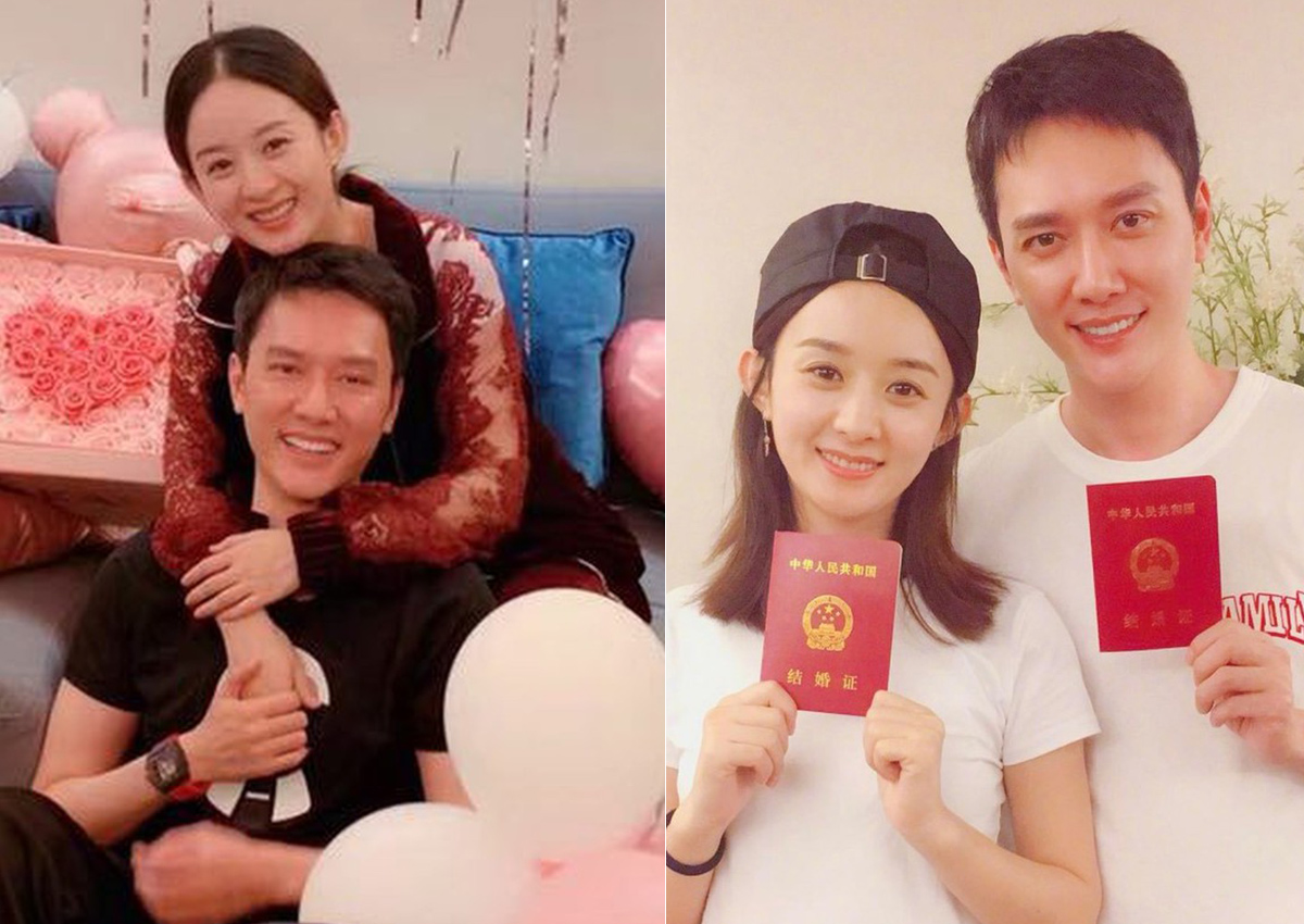 its true chinese stars zhao liying feng shaofeng are