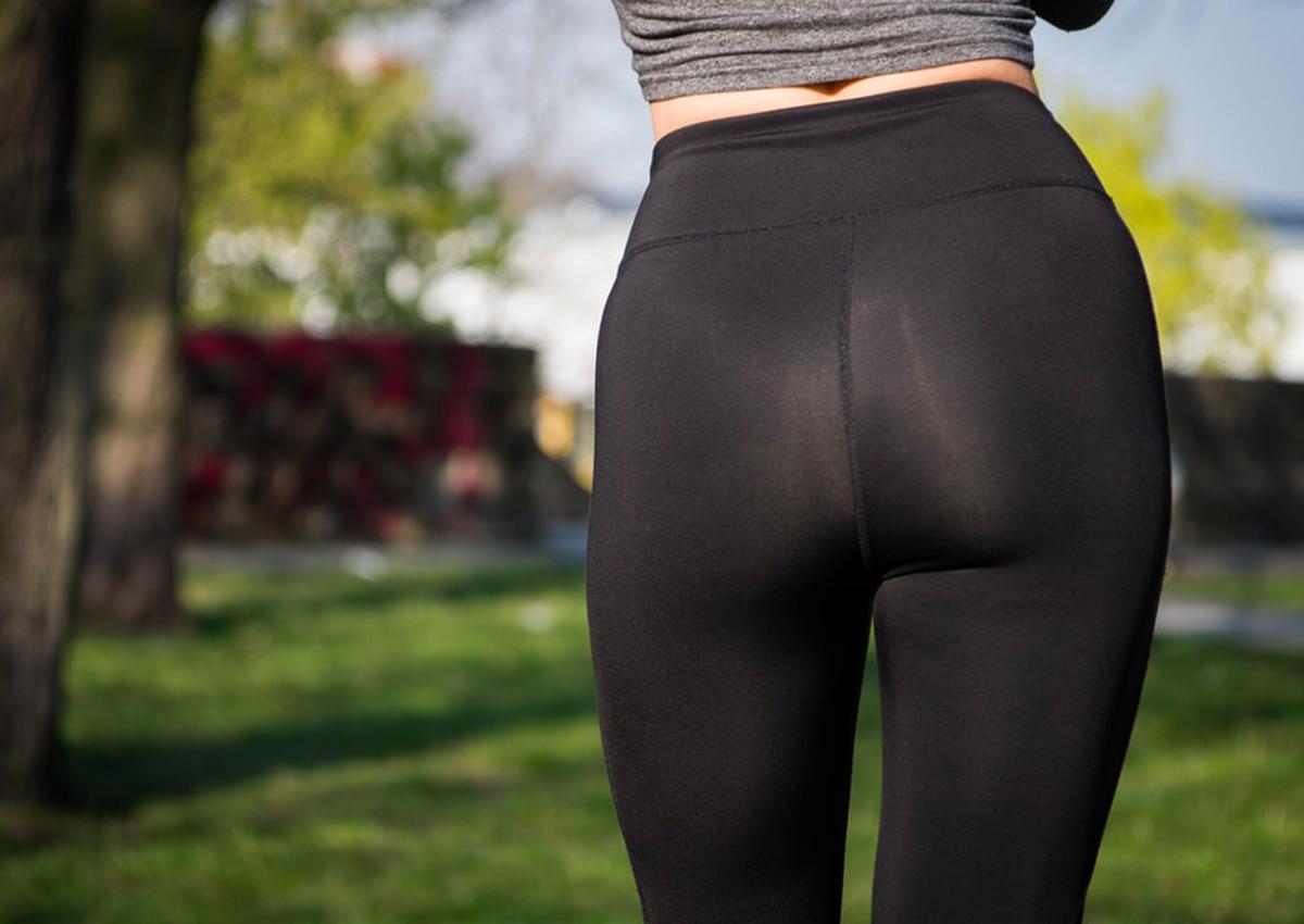 See Through Leggings No Underwear