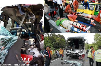 Malaysia highway crash: Singapore woman, 74, dies, Malaysia News