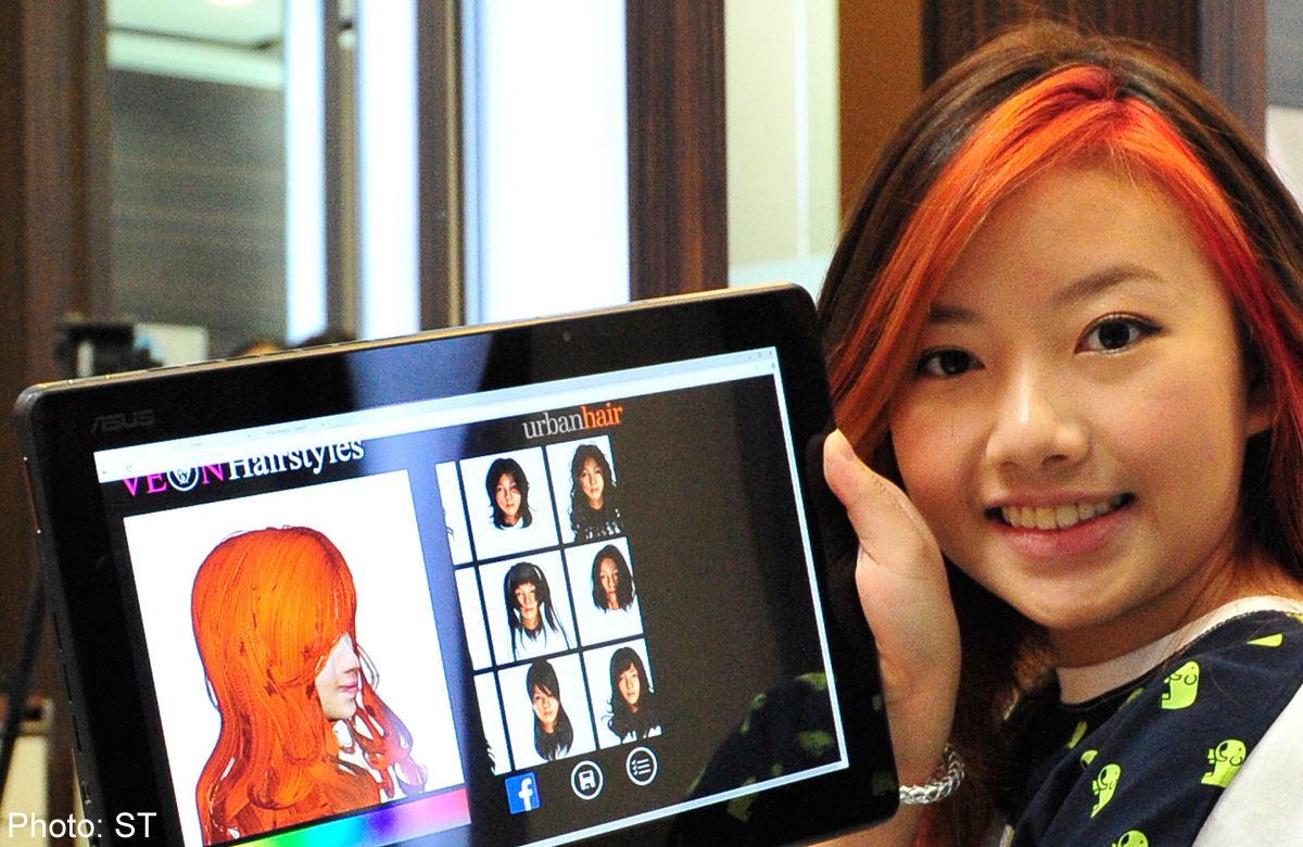 Try Over 50 Hairstyles With 3d App Digital News Asiaone
