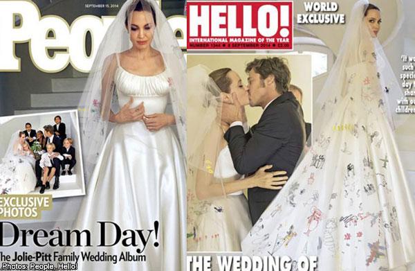 Angelina Jolie S One Of A Kind Wedding Dress Revealed Women Entertainment News Asiaone
