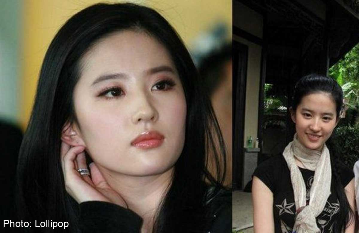 See How These Top Chinese Celebs Look Without Makeup On