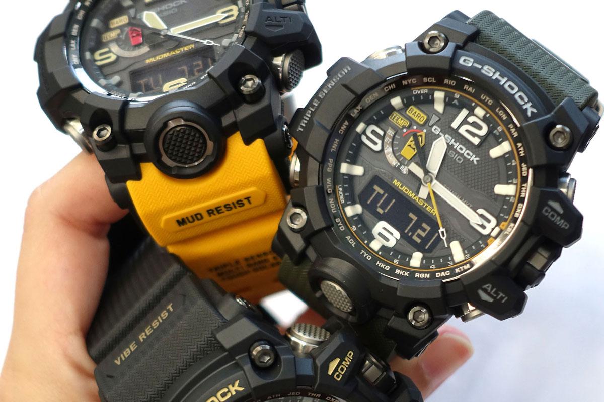 Replica g shock watches - Casio G Shock Mudmaster Gwg 1000 For Tough Men In Tough Terrain Digital News Asiaone